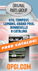 GTO, Tempest, LeMans, Catalina, GP, Bonneville Parts at OPGI.com